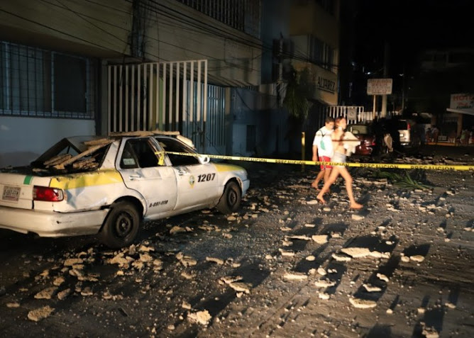 powerful earthquake struck near the Pacific resort city of Acapulco