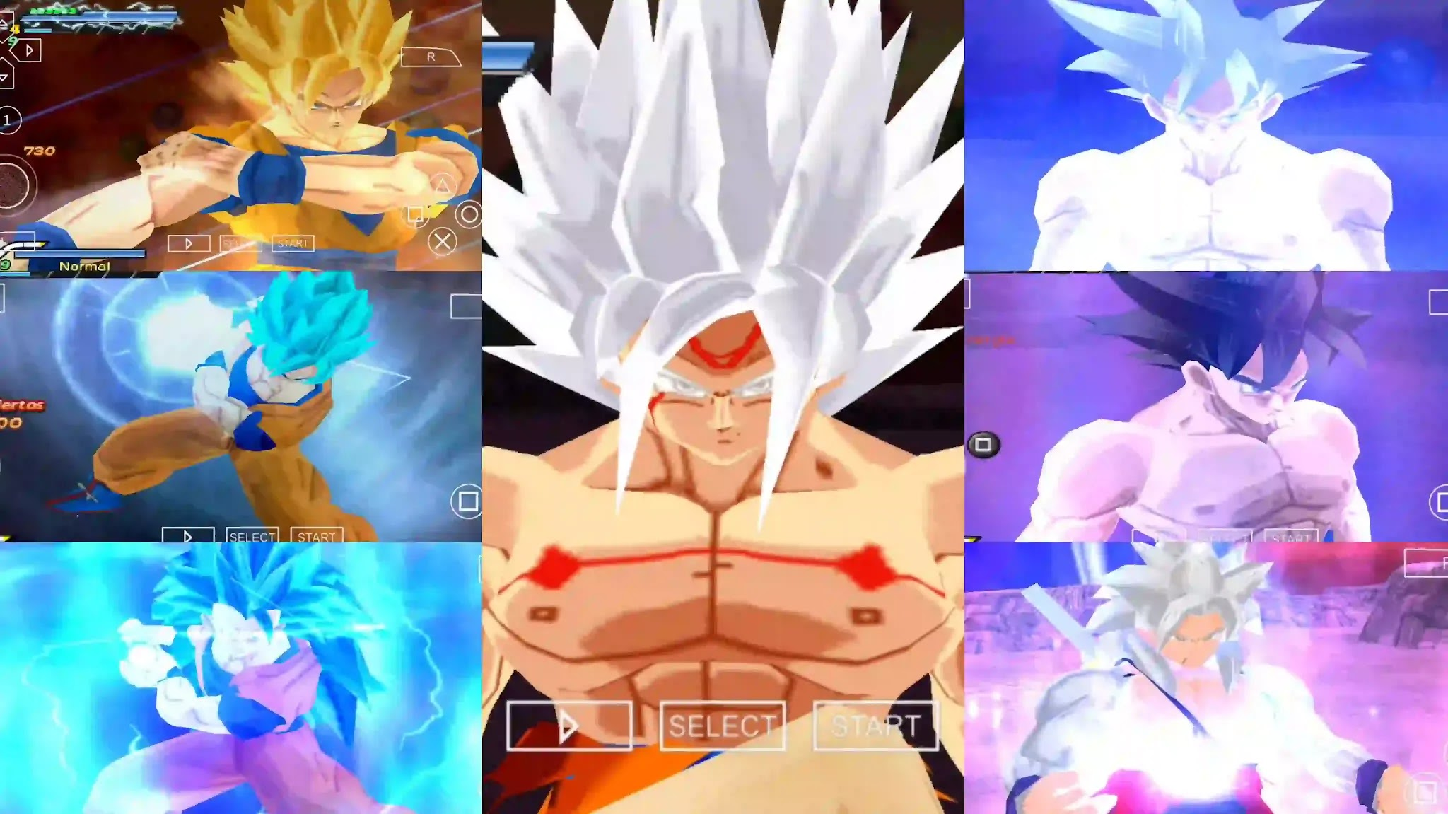 Dragon Ball Super Goku dbz ttt mod BT3