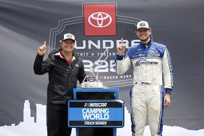Todd Gilliland Wins Truck Series Toyota Tundra 225