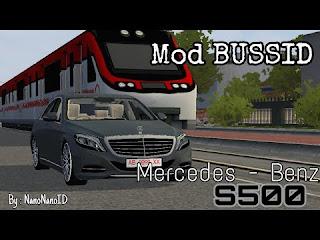 Download Mod Bussid Mobil Mеrсеdеѕ-Bеnz S500 Secara Geratis