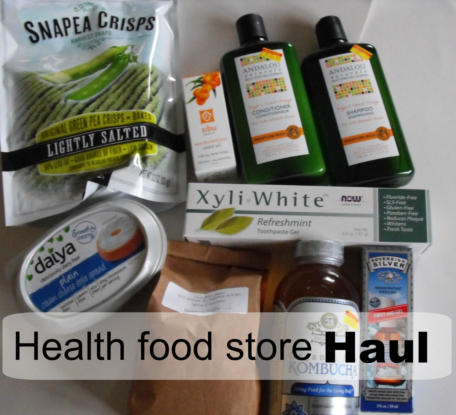health food haul