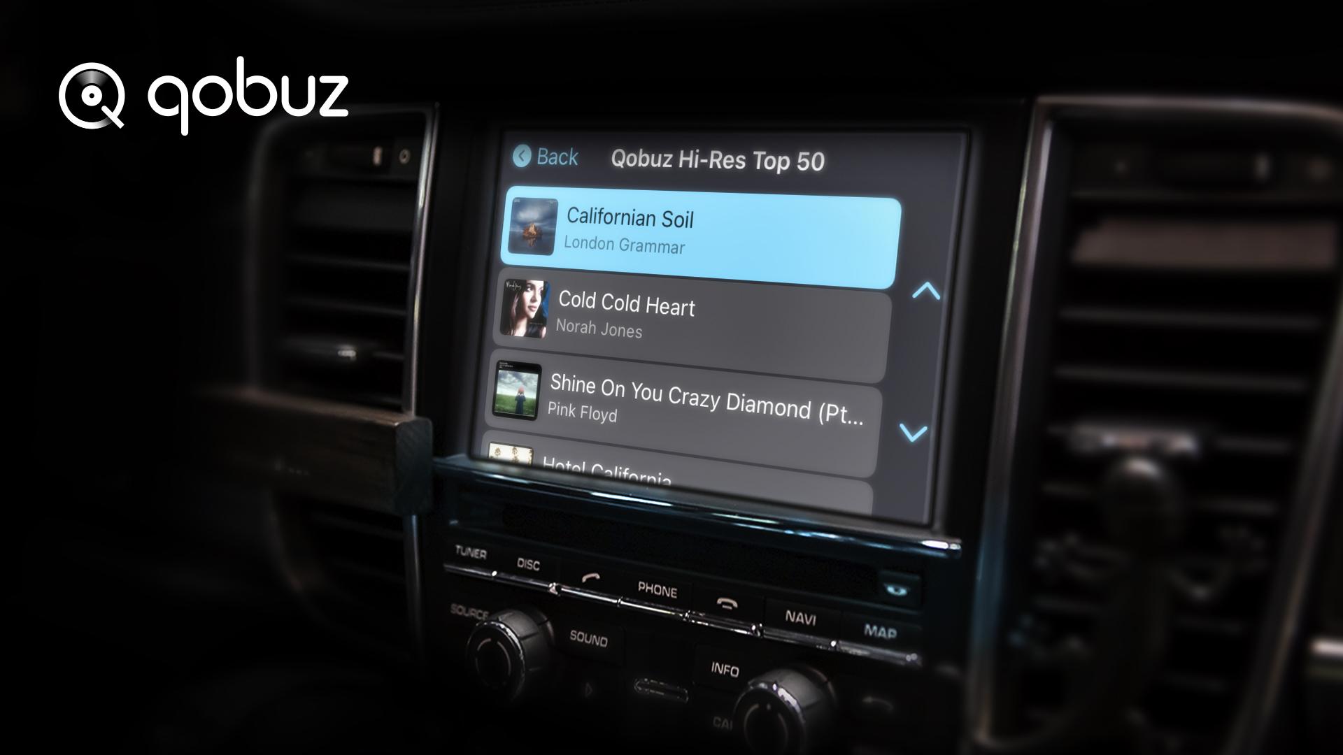My weekly Q und Carplay Online als neue Funktion bei Qobuz | Tipp