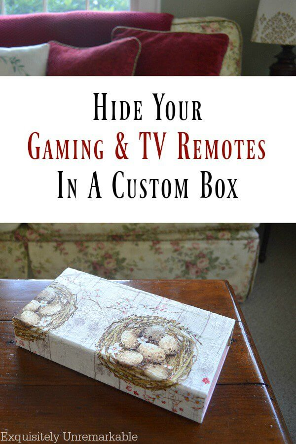 How To Hide Tv Remotes