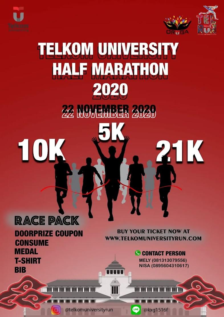Telkom University Half Marathon • 2020