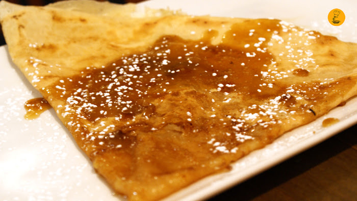 Crepe Suzzette (7,50€) en Prep la Crepe Madrid Génova