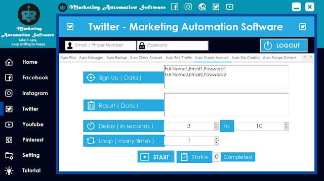 Cara Cepat Membuat Akun Twitter Secara Automatis