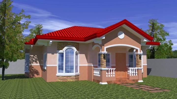 20 small beautiful bungalow house design ideas ideal for for Small house plans in philippines