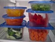 sağlıklı gıda stoğu