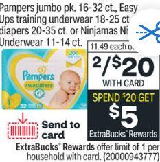 Pampers CVS Coupon Deal 2/21-2/27