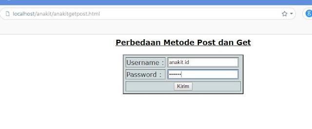 Pernah Menggunakan Method=Get/Post?, Metode Get dan Post Dalam HTML/PHP sering tidak dipahami perbedaanya oleh programer biasa, padahal kedua metode tersebut sangat penting kapan digunakan atau pada bagian program mana digunakan