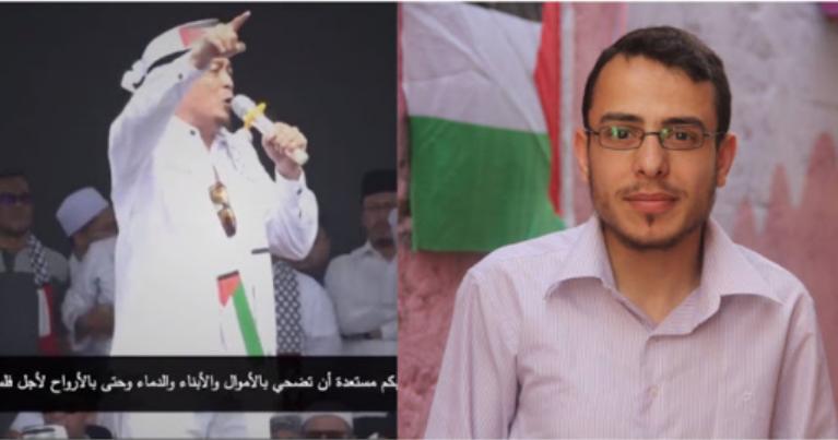 Bercucuran Air Mata Pemuda PALESTINA ini Setelah Mendengar Orasi Menggelegar Ustadz Bachtiar Nasir di AKSI BELA PALESTINA