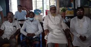 আশাশুনির তুয়ারডাঙ্গা সরকারি প্রাথমিক বিদ্যালয়ে এসএমসির সভা