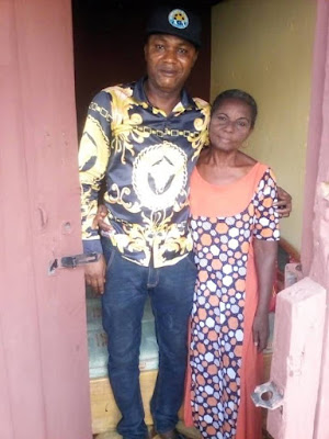 Surprise Christmas Gift: AGN Boss, Don Pedro Aganbi Rescues Squatting Veteran Actress
