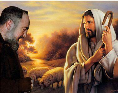 Messaggio di Gesù indirizzato a Padre Pio nel 1958 a San Giovanni Rotondo |