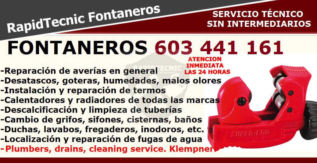 Rapidtecnic Alicante Fontaneros Urb El Limonar Torrevieja 603