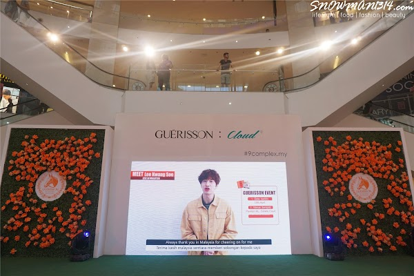 Lee KwangSoo Oppa Ambassador for GUERISSON and Cloud in Malaysia!