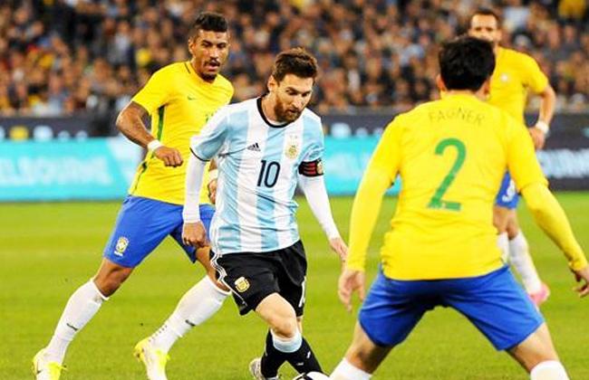 موعد مباراة البرازيل والارجنتين في تصفيات كأس العالم