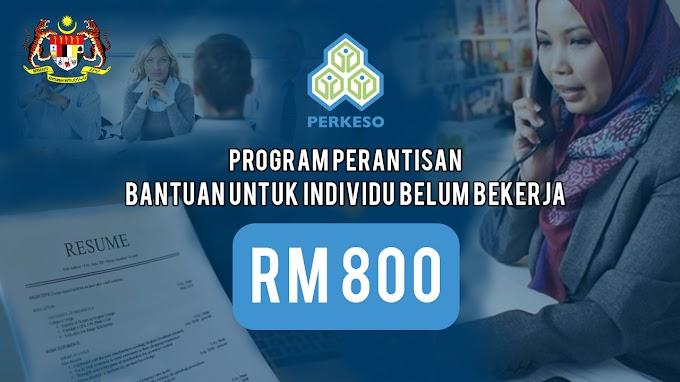 Program Perantisan : Bantuan RM 800 Untuk Individu Belum Bekerja