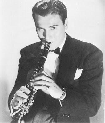 Clarinetista de jazz Artie Shaw, su biografía en Clariperu