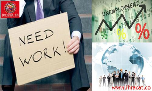 türkiye işsizlik oranı, dünya işsizlik rakamları,  ihracat.co