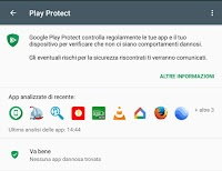Antivirus Google Play Protect per proteggere Android su cellulari e tablet