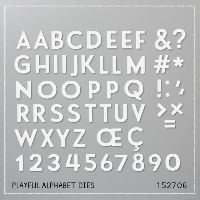 Playful Alphabet Dies Stampin Up Allthingsstampy Helen Read