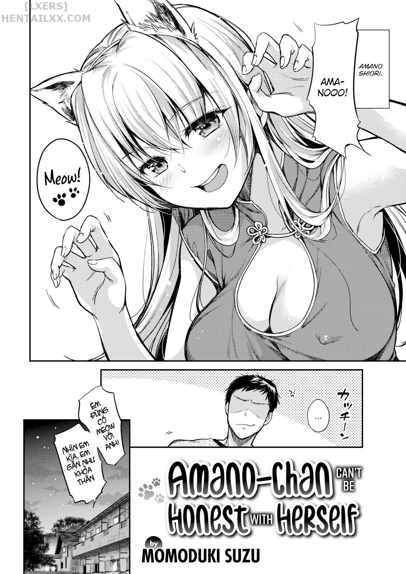 002 Amano-chan Can't Be Honest With Herself  - hentaicube.net - Truyện tranh hentai online