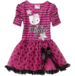 Gambar Baju Hello Kitty Untuk Anak 8