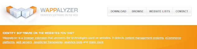 Intip Teknologi Dibelakang Web Dengan Wappalyzer