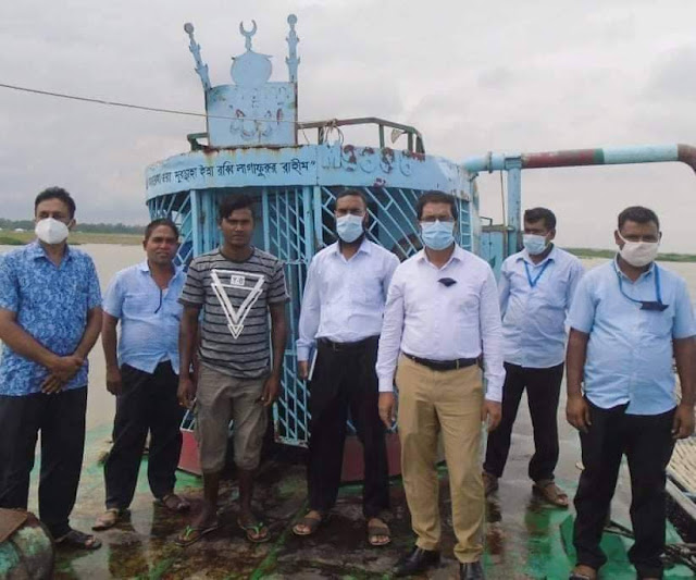 সিরাজগঞ্জে বেলকুচিতে অবৈধভাবে বালু উত্তোলনে পঁচাত্তর হাজার টাকা জরিমানা