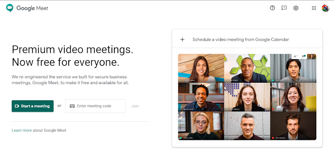 Google Meet - A Free Alternative to Zoom from Google