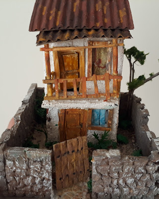 Miniature old town house