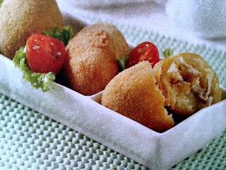 Gambar Resep Kroket Singkong Ayam Goreng