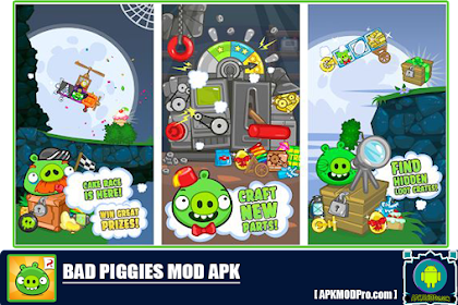 BAD PIGGIES HD MOD APK 2.3.6 Unlimited Money Versi Terbaru 2020