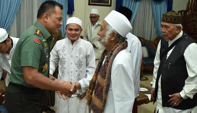 Panglima TNI Gatot Minta Ulama Doakan TNI Kuat Lindungi Bangsa Ini