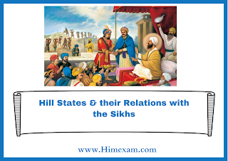 Hill States & their Relations with the Sikhs