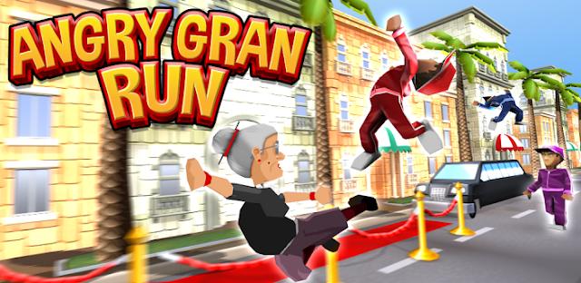 حصريا لعبة angry gran run على ويندوز 8 او 10