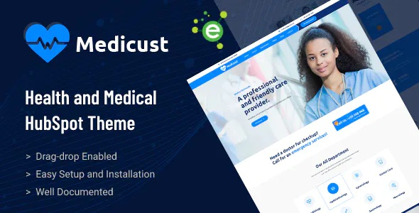 Best Health and Medical HubSpot Theme