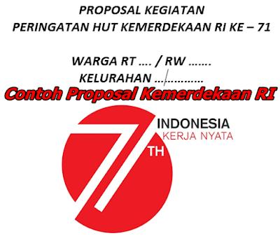 Contoh Proposal Kegiatan Kemerdekaan Ri Ke 71 Guru Peduli
