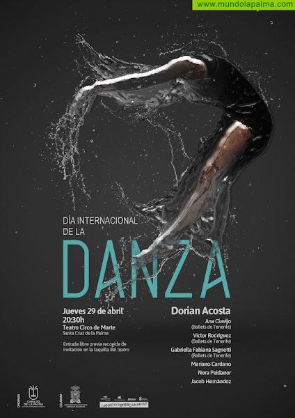El Cabildo celebra el Día Internacional de La Danza con una actuación del bailarín Dorian Acosta