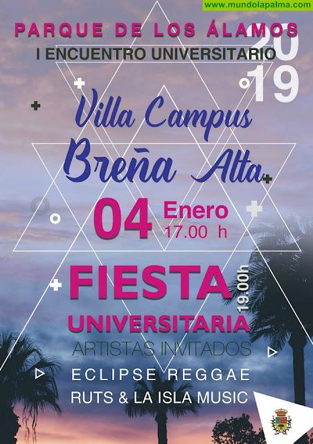 """Breña Alta pone en marcha el I Encuentro Universitario """"Villa Campus 2019"""""""