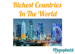 Visualization Of Top 10 Richest Countries In The World
