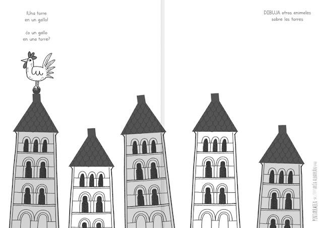 Torre veleta gallo - Segovia