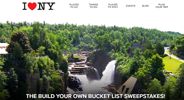 I LOVE NY wants to know what's on your bucket list! Share it with them and you might just win a trip for four to visit your favorite I LOVE NY attractions!