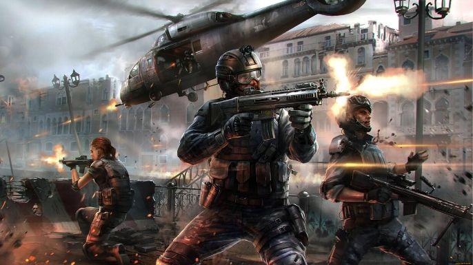 Modern Combat 5: Blackout (mobile)