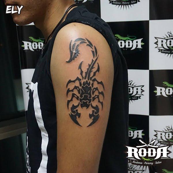 Escorpion Tatuaje tatuaje escorpión - roda body art
