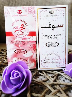 Recenzja: Perfumy w olejku Soft i Cherry Flower- Al-Rehab Poland