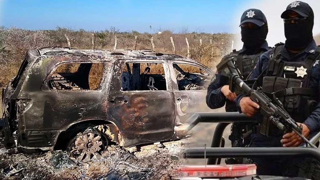 Algunos de los 12 Policías detenidos por Ejecutar y calcinar a 19 migrantes en Tamaulipas estaban drogados al momento de los hechos