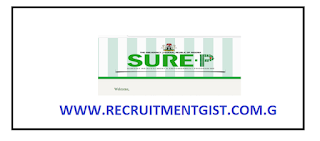 Apply For Sure-P Recruitment 2018/2019 / App Registration Form