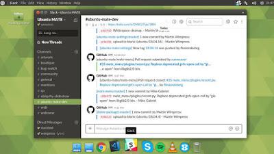Tangkapan Layar Ubuntu Mate 18.04 LTS